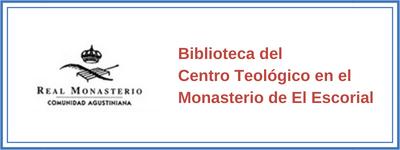 Biblioteca del Centro Teológico en el Monasterio de El Escorial